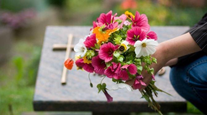 Cimitero, foto di repertorio