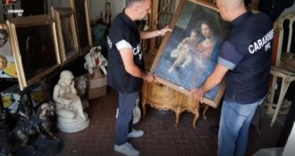 Ricettazione opere d'arte, ai domiciliari due antiquari