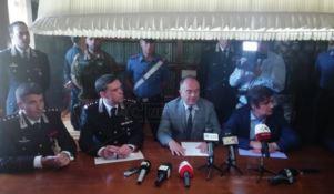 La conferenza stampa dell'operazione Prisoners Tax