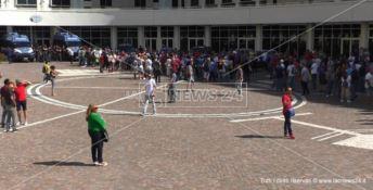 Contratti in scadenza, tirocinanti della giustizia in piazza a Catanzaro