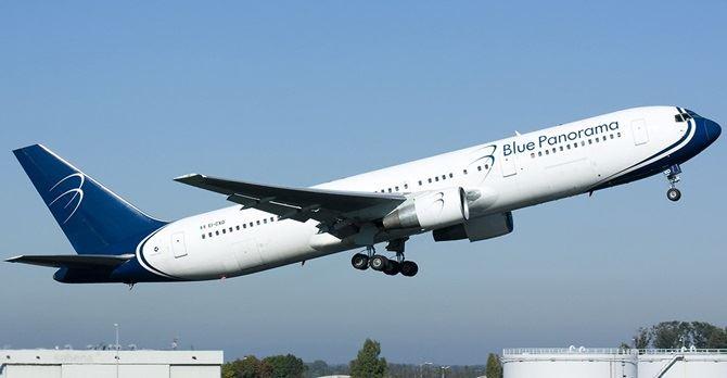 Un volo Blue Panorama