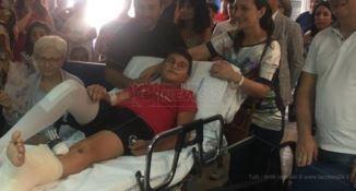 Coinvolto in un incidente, per Gerardo concerto a sorpresa in ospedale