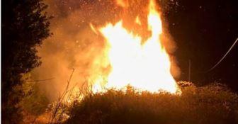 Sorpreso ad appiccare un incendio, un arresto a Badolato