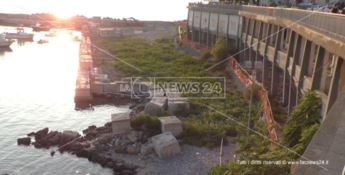 Porto di Diamante, Magorno promette una svolta: «I lavori devono riprendere»