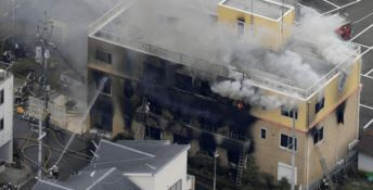 Incendio nei locali Kyoto Animation