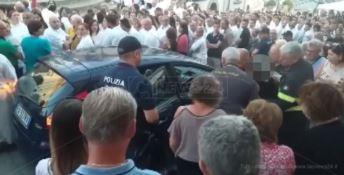 I soccorsi durante la festa a Polistena