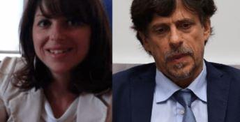 Alessandra Vella e Luigi Patronaggio