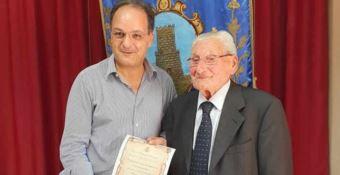 Il sindaco e Rosario Leopoldo