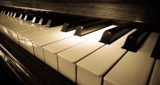 La tastiera di un pianoforte