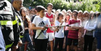 """""""Anch'io sono la Protezione civile"""": il campo scuola a San Vincenzo la Costa"""