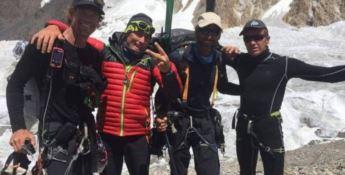 Salvato alpinista italiano precipitato sulle montagne in Pakistan