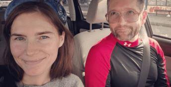 Amanda Knox e Christopher Robinson