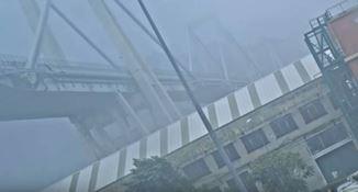 Crollo ponte di Genova, diffuse le immagini inedite della tragedia