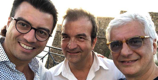 Gianluca Callipo, Mario Occhiuto e Tonino Daffinà