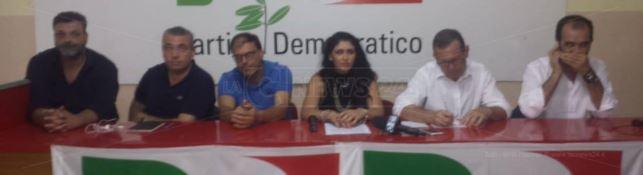 Pd Crotone, che facevano Mauro D'Acri ed Enzo Bruno alla conferenza stampa contro Graziano?