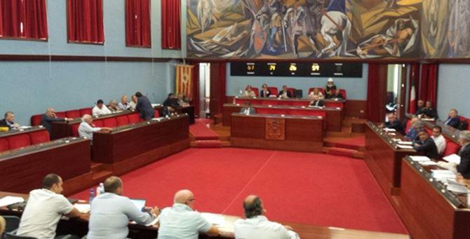 L'aula del consiglio comunale di Catanzaro