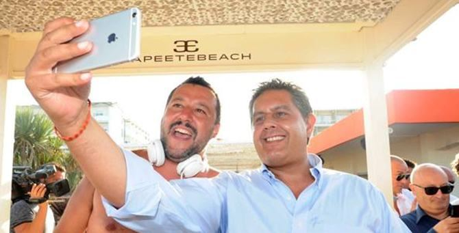 Selfie Salvini-Toti