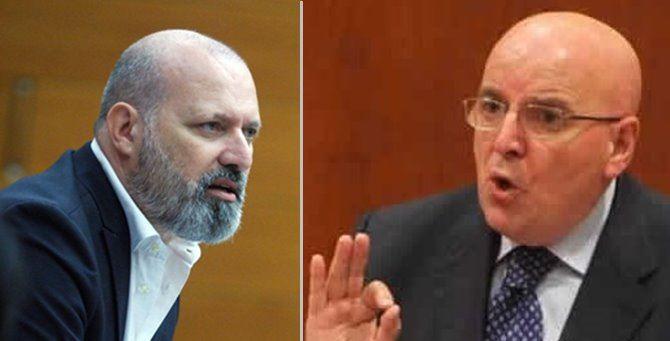 Stefano Bonaccini e Mario Oliverio