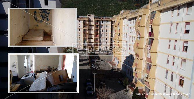 Degrado e rabbia nel quartiere catanzarese di Viale Isonzo