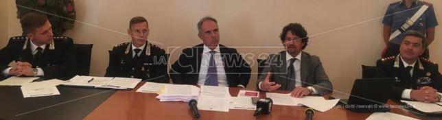 Operazione Altanum, la conferenza stampa