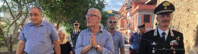 Carmelo Zappia, Nicola Morra e Luca Romano