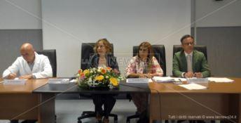 Asp Catanzaro, i vertici a Lamezia: «Lavoriamo duro per salvare l'azienda»