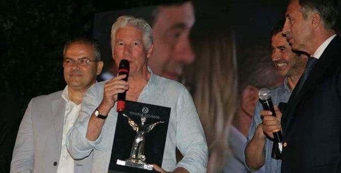 Richard Gere con il premio