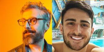 Dario brunori, in arte Brunori Sas, e Giovanni Tocci