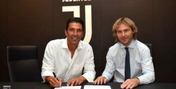 Ufficiale il ritorno di Buffon alla Juve: contratto di un anno