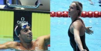 Mondiali, Paltrinieri e Pellegrini coppia d'oro del nuoto azzurro