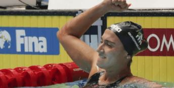 Mondiali di nuoto, la Quadarella medaglia d'oro e record nazionale