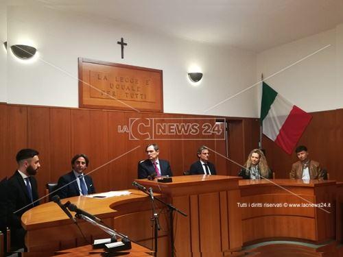 Reggio, la presentazione del progetto