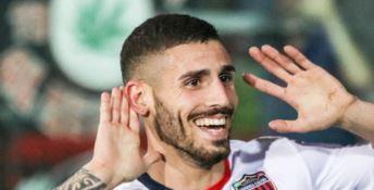 L'addio di Tutino al Cosenza: «Sarà sempre parte di me»