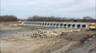 Ponte Allaro, il guado è tratto: lavori quasi ultimati