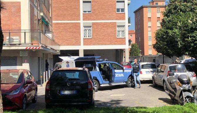 Bologna, il luogo della tragedia (Ansa)