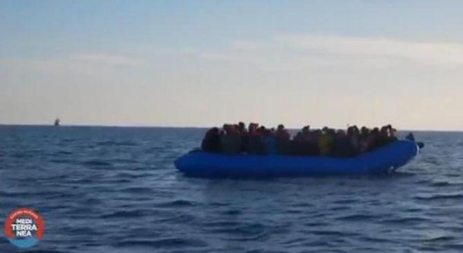Un frame del video del soccorso