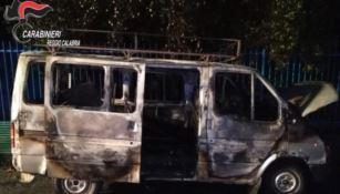 Incendio a Polistena