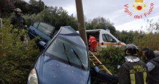 L'incidente a Lamezia Terme