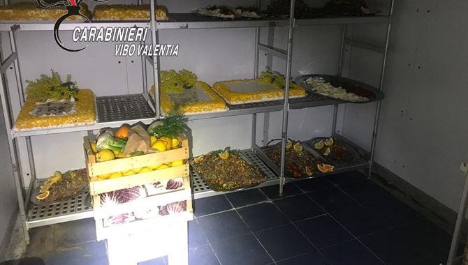 I piatti con il cibo pronto da servire