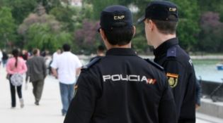 La Polizia spagnola