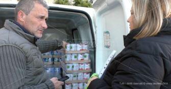 Lamezia, la missione del banco alimentare