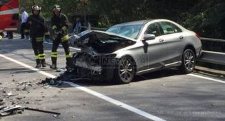 Grave incidente stradale sulla statale 107 a San Fili