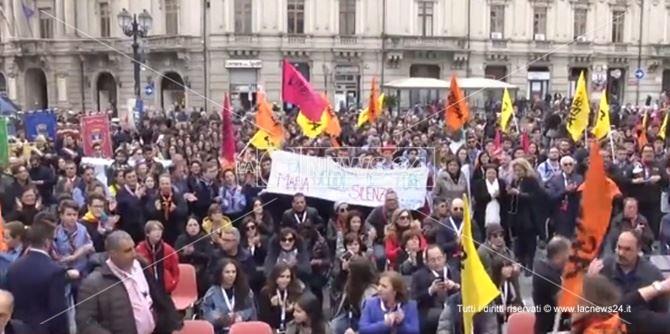 La manifestazione di Libera a Catanzaro