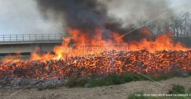 Incendio - foto di repertorio