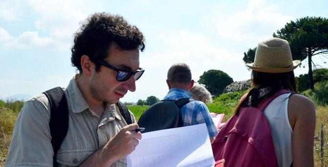 Dario Godano sul campo
