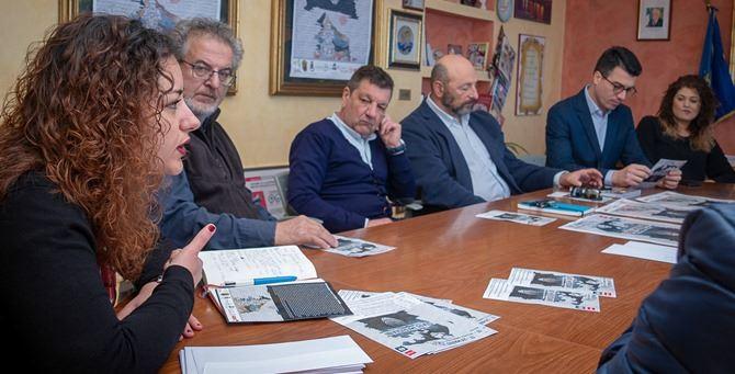 La conferenza stampa di presentazione di Diari meridiani