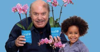 Unicef, torna nelle piazze l'Orchidea per salvare i bambini malnutriti