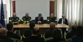 Catanzaro, incontro tra i vertici nazionali dei vigili del fuoco e i sindacati