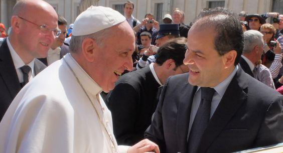 Affidato con papa Francesco