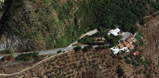 Una panoramica del versante di Tiriolo